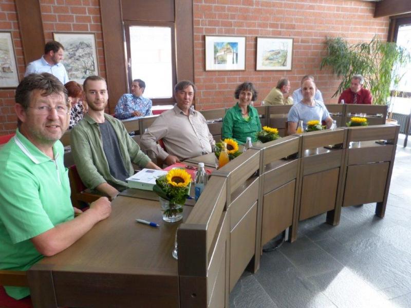 Fraktion der Grünen OV Kraichtal bei der Eröffnungssitzung des neugewählten Gemeinderats