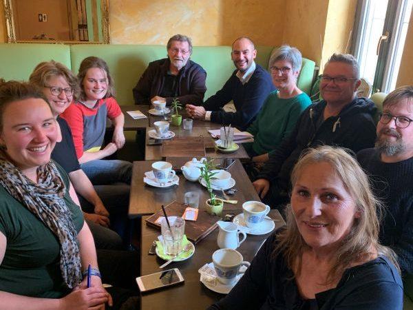 Treffen der Neumitglieder*innen mit Danyal Bayaz und Andrea Schwarz