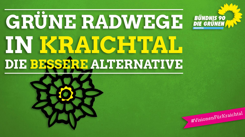 Grüne Radwege in Kraichtal