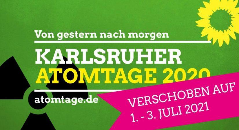 Verschoben: Karlsruher Atomtage